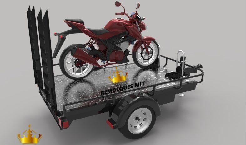 Remolque para Motos Terrestres RMT-2 completo
