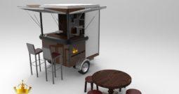 Food Truck – Cafe – 2M – Remolque Servicio de Cafe